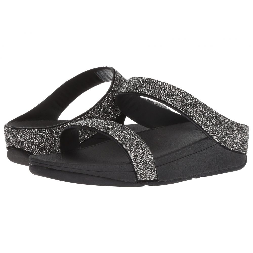 フィットフロップ FitFlop レディース シューズ・靴 ビーチサンダル【Fino Quartz Sandals】Black