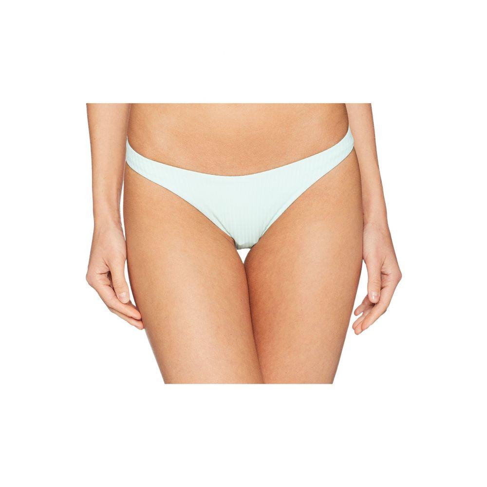 ビタミン A Vitamin A Swimwear レディース 水着・ビーチウェア ボトムのみ【California High-Leg Ribbed Bottoms】Glacier/Eco Rib