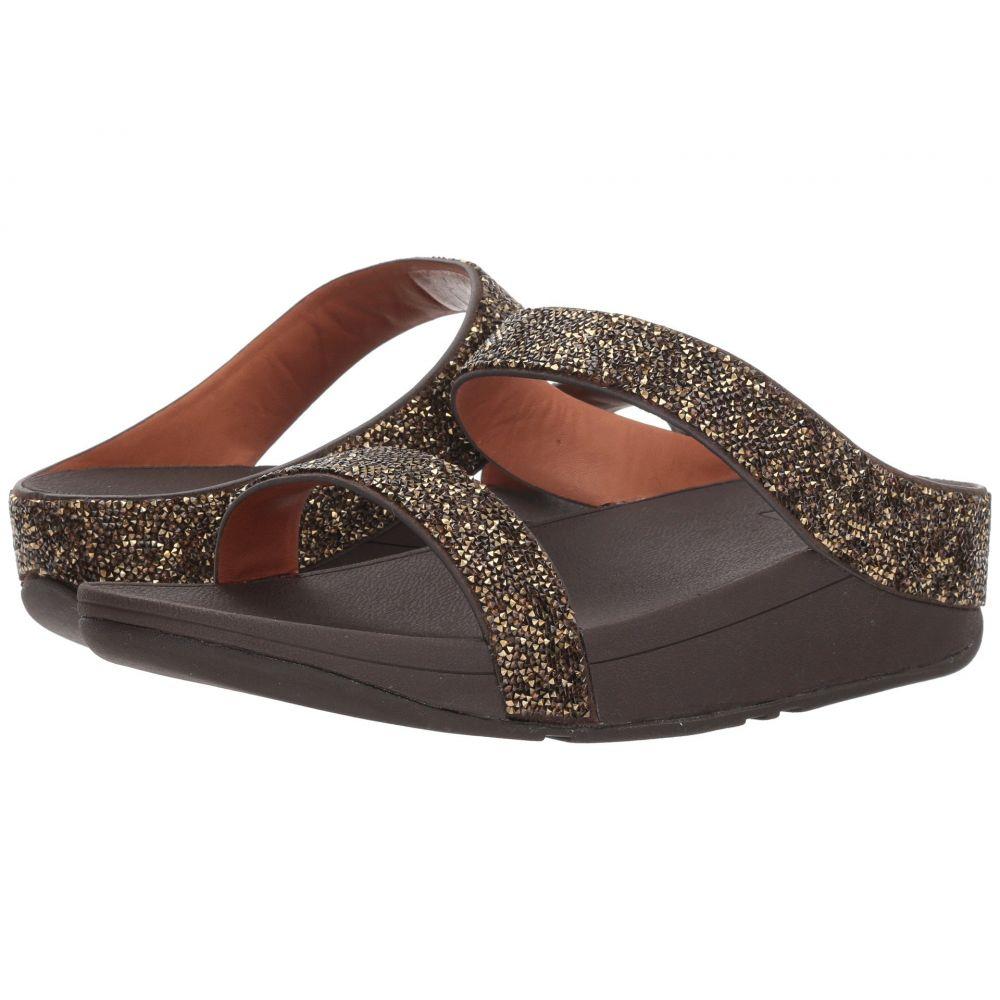 フィットフロップ レディース シューズ・靴 FitFlop Sandals】Gold ビーチサンダル【Fino Quartz