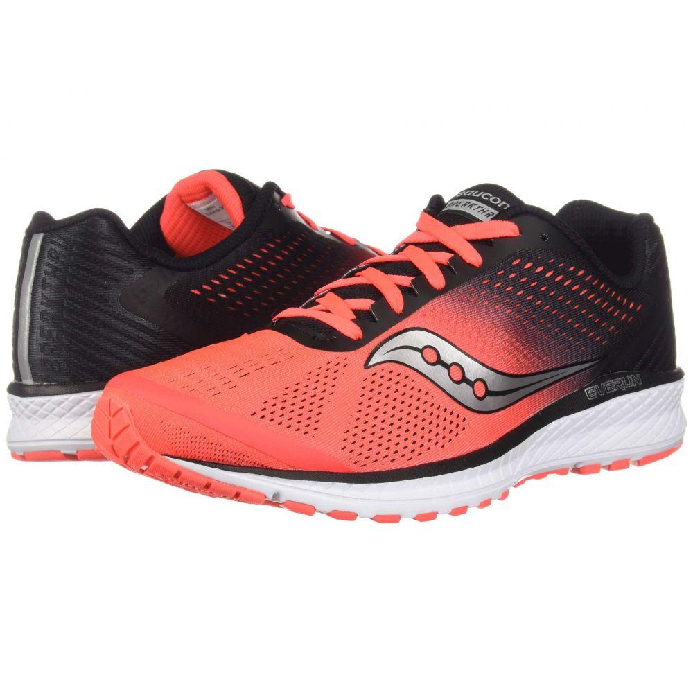サッカニー Saucony メンズ ランニング・ウォーキング シューズ・靴【Breakthru 4】Vizi Red/Black