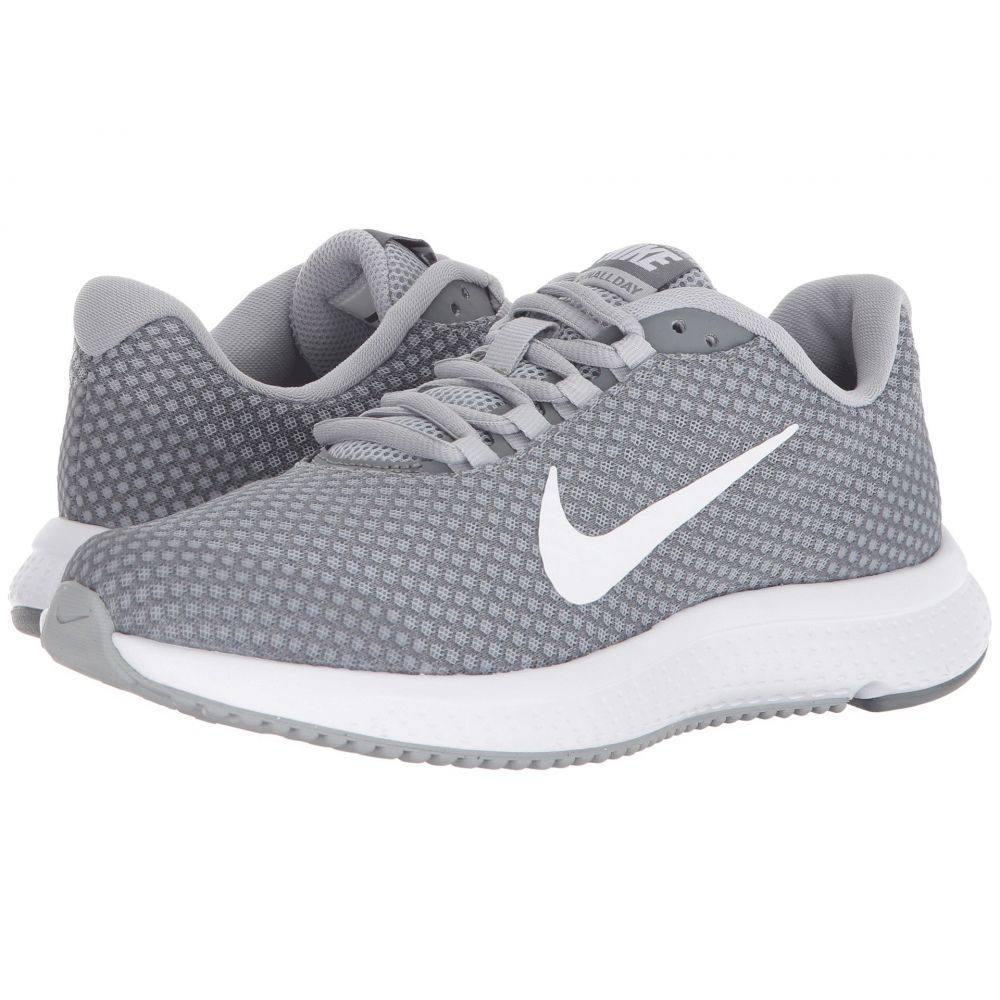 ナイキ Nike レディース ランニング・ウォーキング シューズ・靴【RunAllDay】Wolf Grey/White/Cool Grey