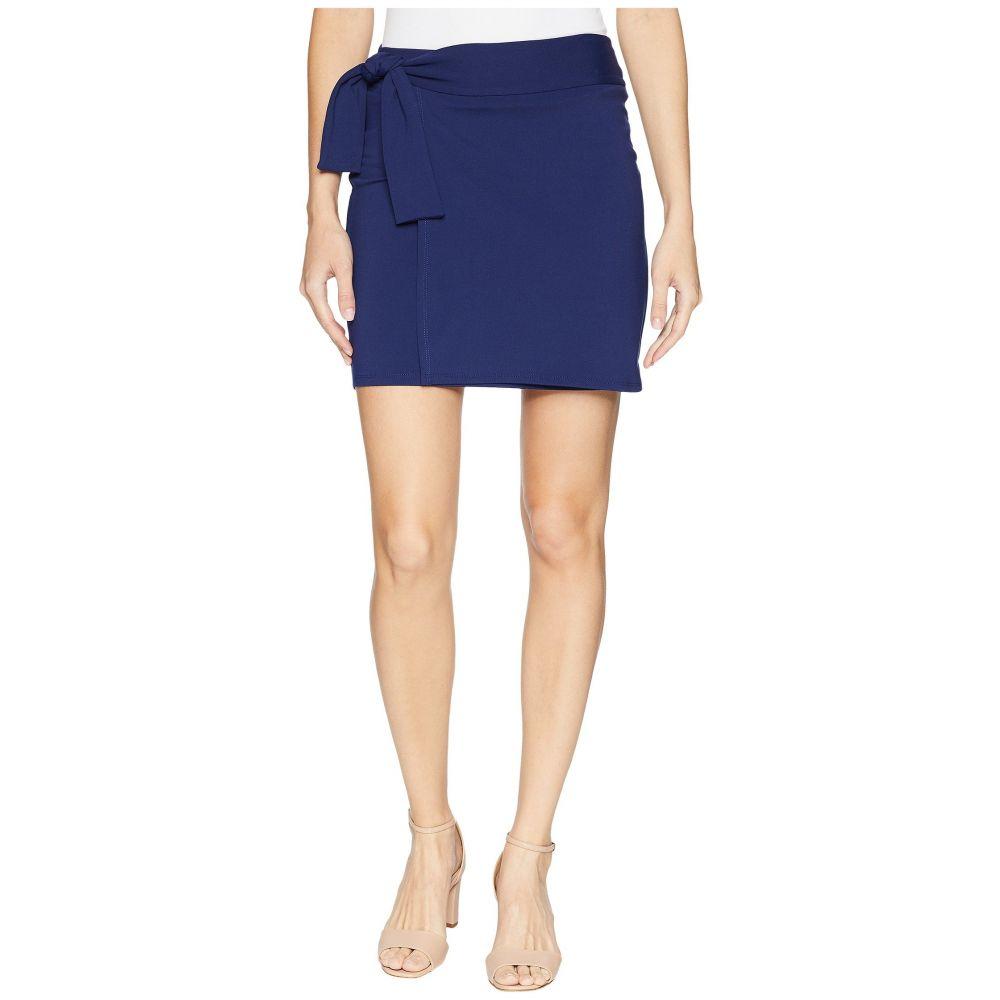 スサナ モナコ Susana Monaco レディース スカート ミニスカート【Tie Mini Skirt】Deep Sea