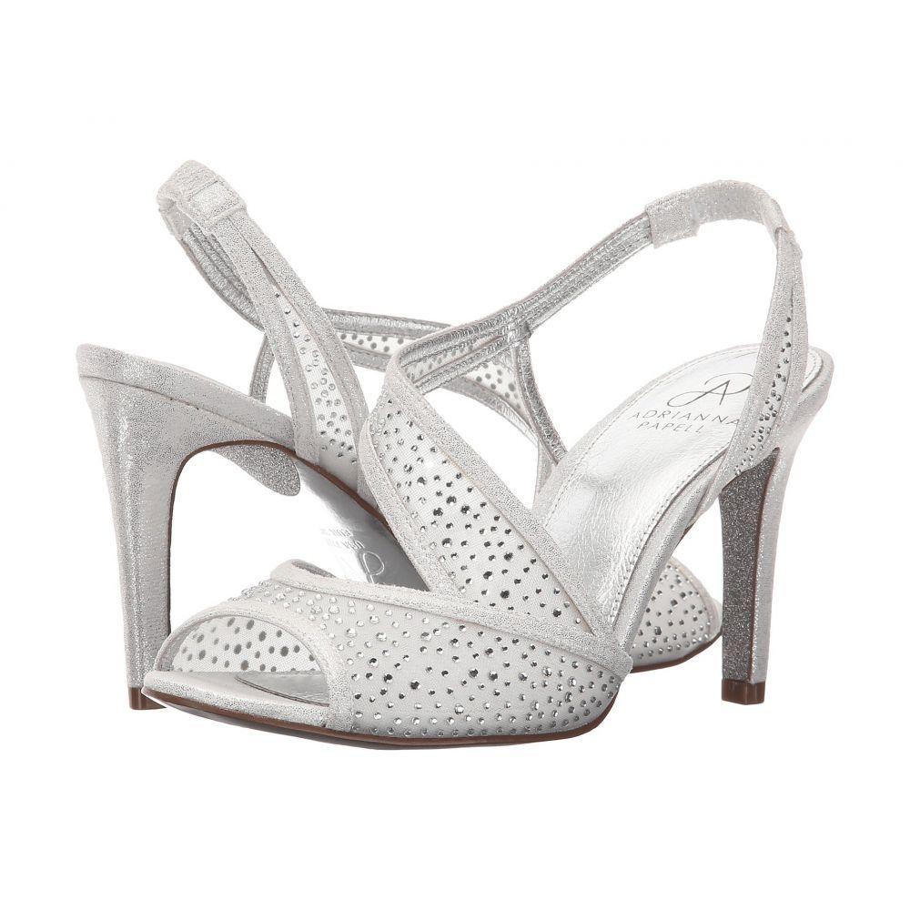 アドリアナ パペル Adrianna Papell レディース シューズ・靴 サンダル・ミュール【Andie】Silver