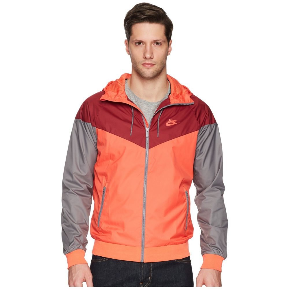 ナイキ Nike メンズ アウター ジャケット【Sportwear Windrunner Jacket】Rush Coral/Team Red/Gunsmoke/Rush Coral