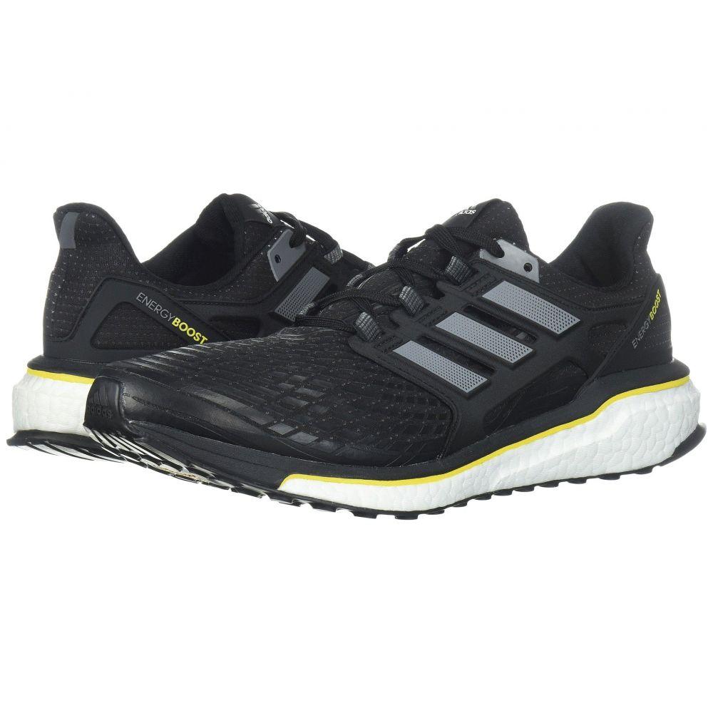 アディダス adidas Running メンズ ランニング・ウォーキング シューズ・靴【Energy Boost】Core Black/Night Metallic/Vivid Yellow