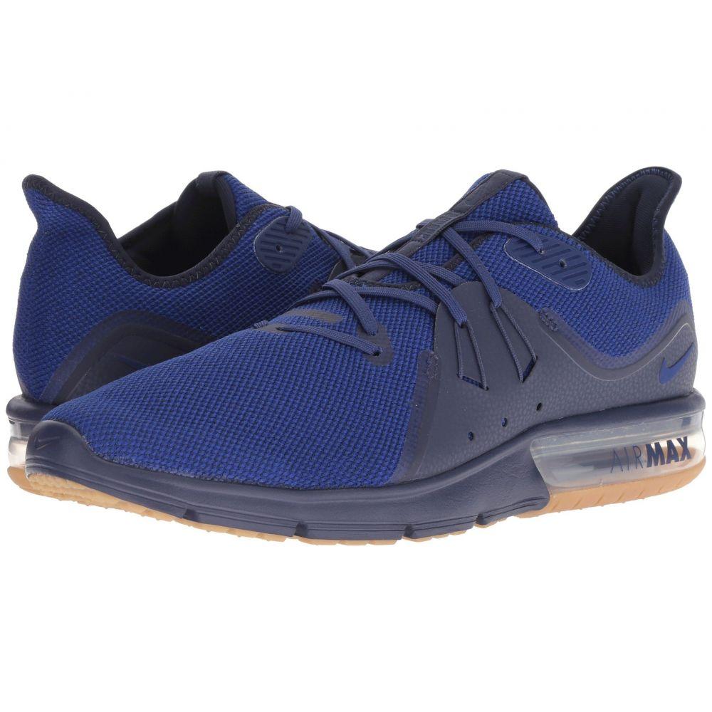 ナイキ Nike メンズ ランニング・ウォーキング シューズ・靴【Air Max Sequent 3】Obsidian/Deep Royal Blue/Neutral Indigo
