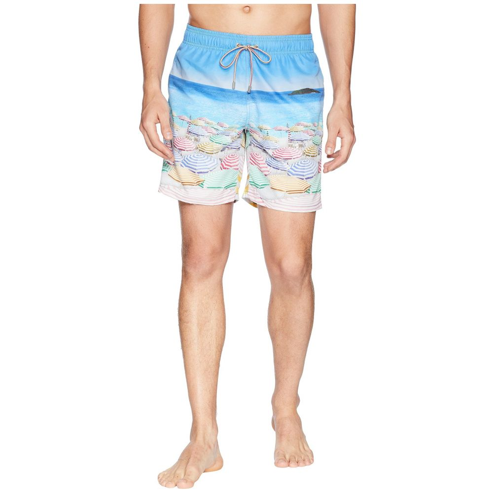 ブガッチ BUGATCHI メンズ 水着・ビーチウェア 海パン【Retro Beach Swim Trunk】Ocean