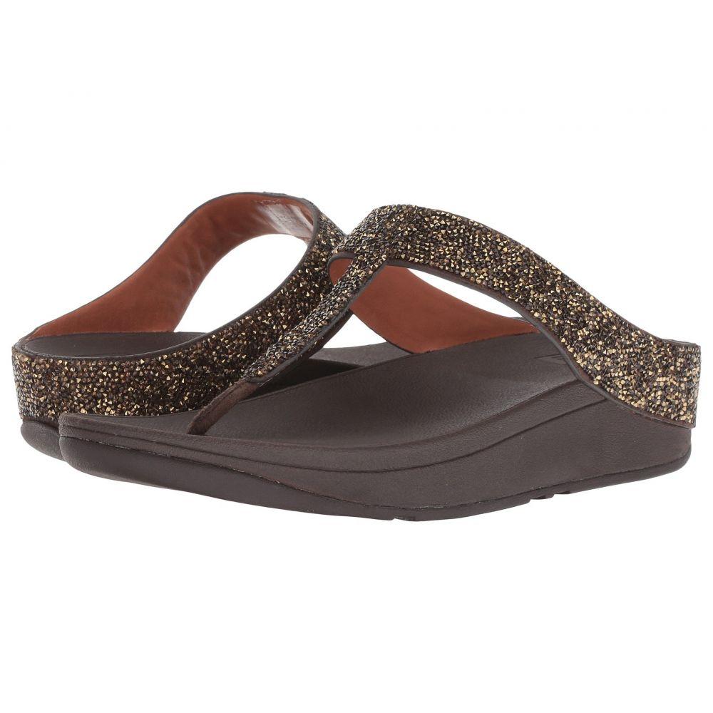 Thong シューズ・靴 Sandals】Gold ビーチサンダル【Fino Toe FitFlop フィットフロップ Quartz レディース