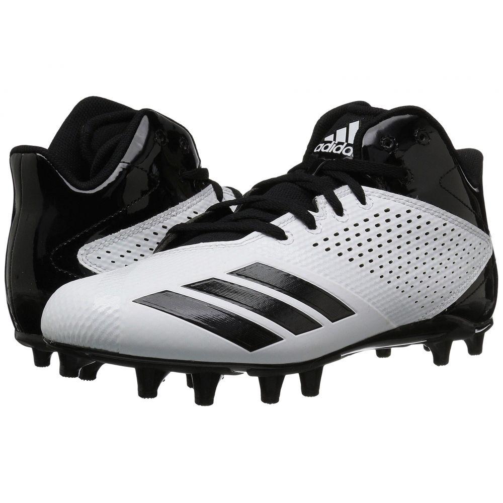 アディダス adidas メンズ アメリカンフットボール シューズ・靴【5-Star Mid Football】Footwear White/Core Black/Core Black