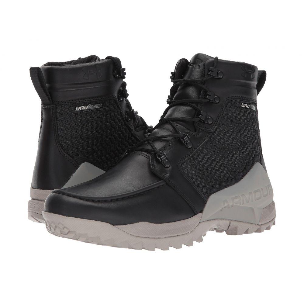 アンダーアーマー Under Armour メンズ ハイキング・登山 シューズ・靴【UA Field Ops GORE-TEX】Black/Autumn Tan/Black