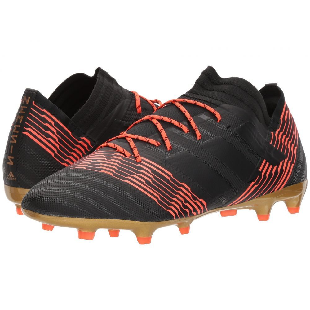 アディダス adidas メンズ サッカー シューズ・靴【Nemeziz 17.2 FG】Black/Black/Solar Red