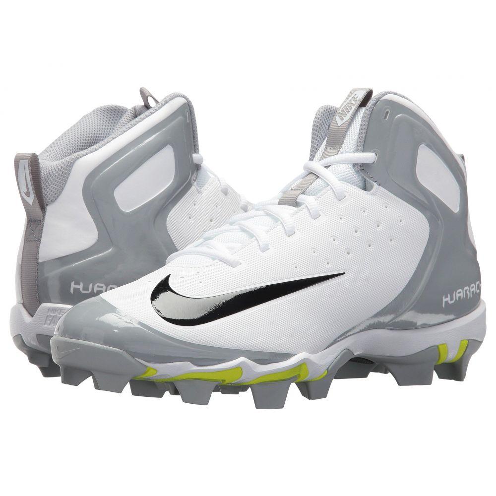 ナイキ Nike メンズ 野球 シューズ・靴【Alpha Huarache Keystone Mid】White/Black/White/Wolf Grey