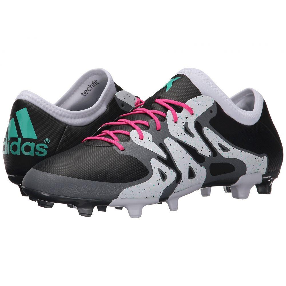 アディダス adidas メンズ サッカー シューズ・靴【X 15.2 FG/AG】Black/Shock Mint/White