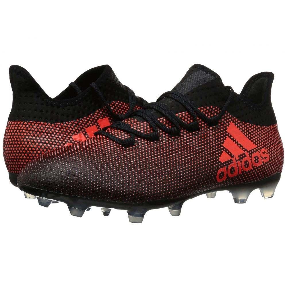 アディダス adidas メンズ サッカー シューズ・靴【X 17.2 FG】Core Black/Solar Red/Solar Orange