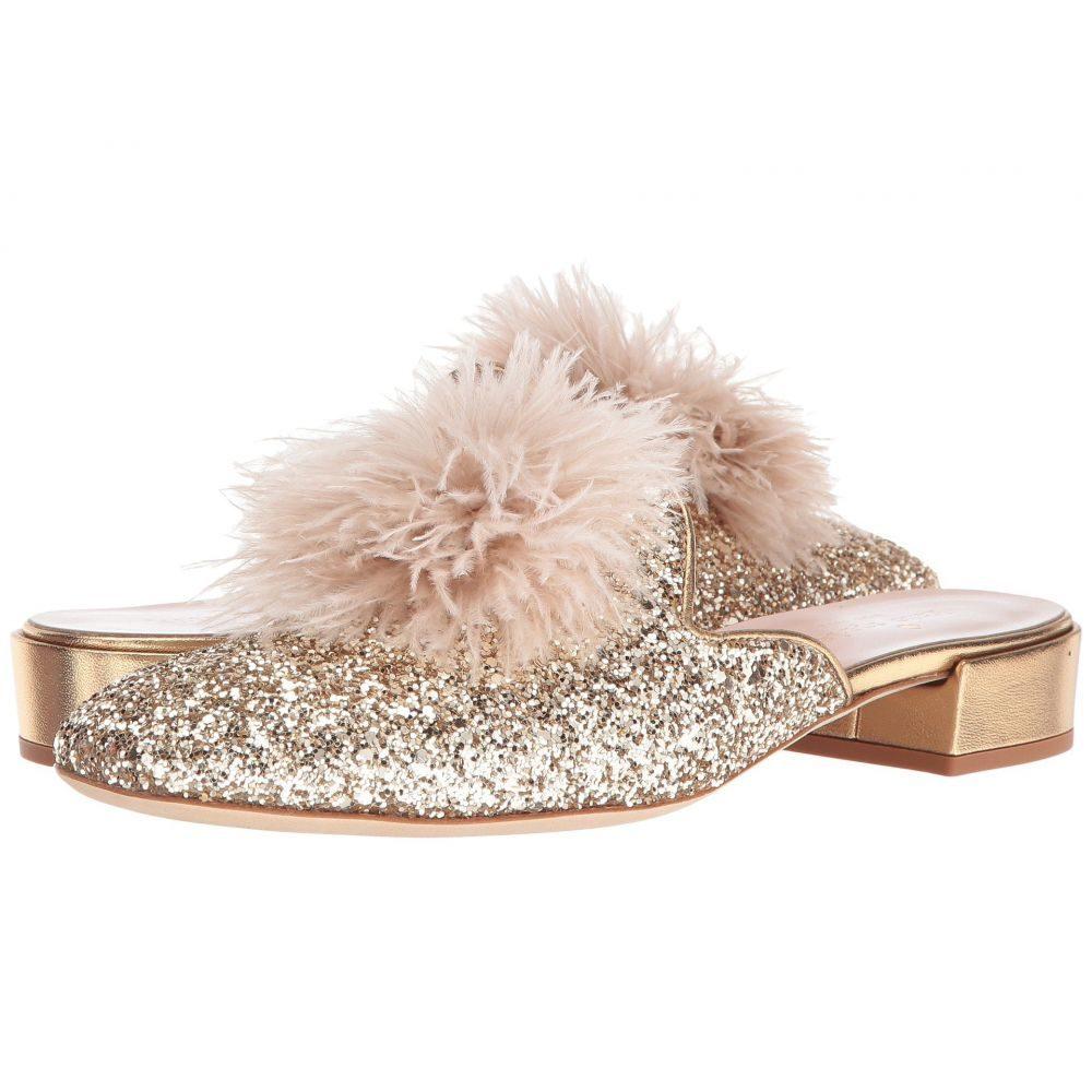 ケイト スペード Kate Spade New York レディース シューズ・靴【Gala】Gold Glitter/Metallic Nappa