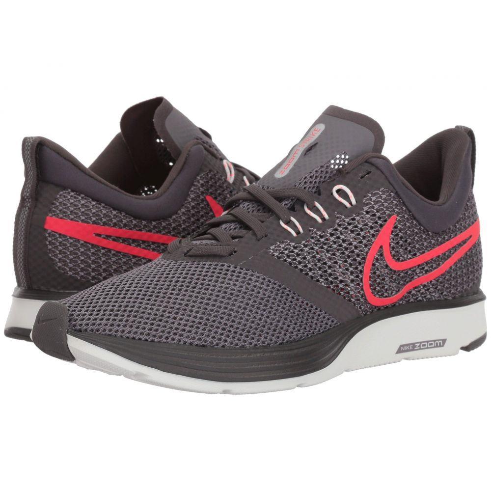 ナイキ Nike レディース ランニング・ウォーキング シューズ・靴【Zoom Strike】Thunder Grey/Flash Crimson/Gunsmoke
