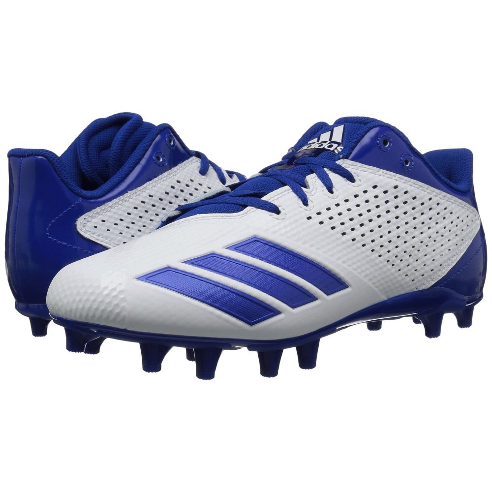 アディダス adidas メンズ アメリカンフットボール シューズ・靴【5-Star】Footwear White/Collegiate Royal/Collegiate Royal