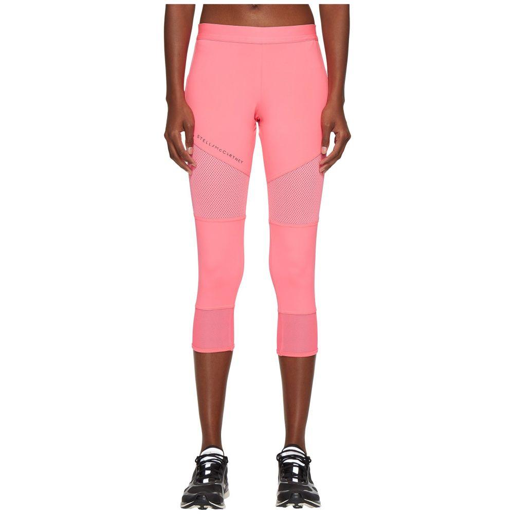 アディダス adidas by Stella McCartney レディース インナー・下着 スパッツ・レギンス【Performance Essentials 3/4 Tights CG0892】Solar Pink