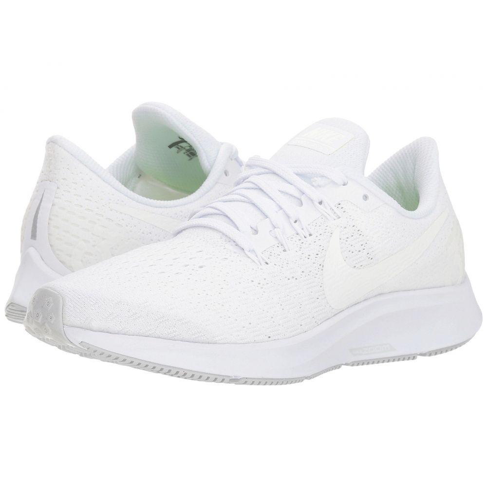 ナイキ Nike レディース ランニング・ウォーキング シューズ・靴【Air Zoom Pegasus 35】White/Summit White/Pure Platinum