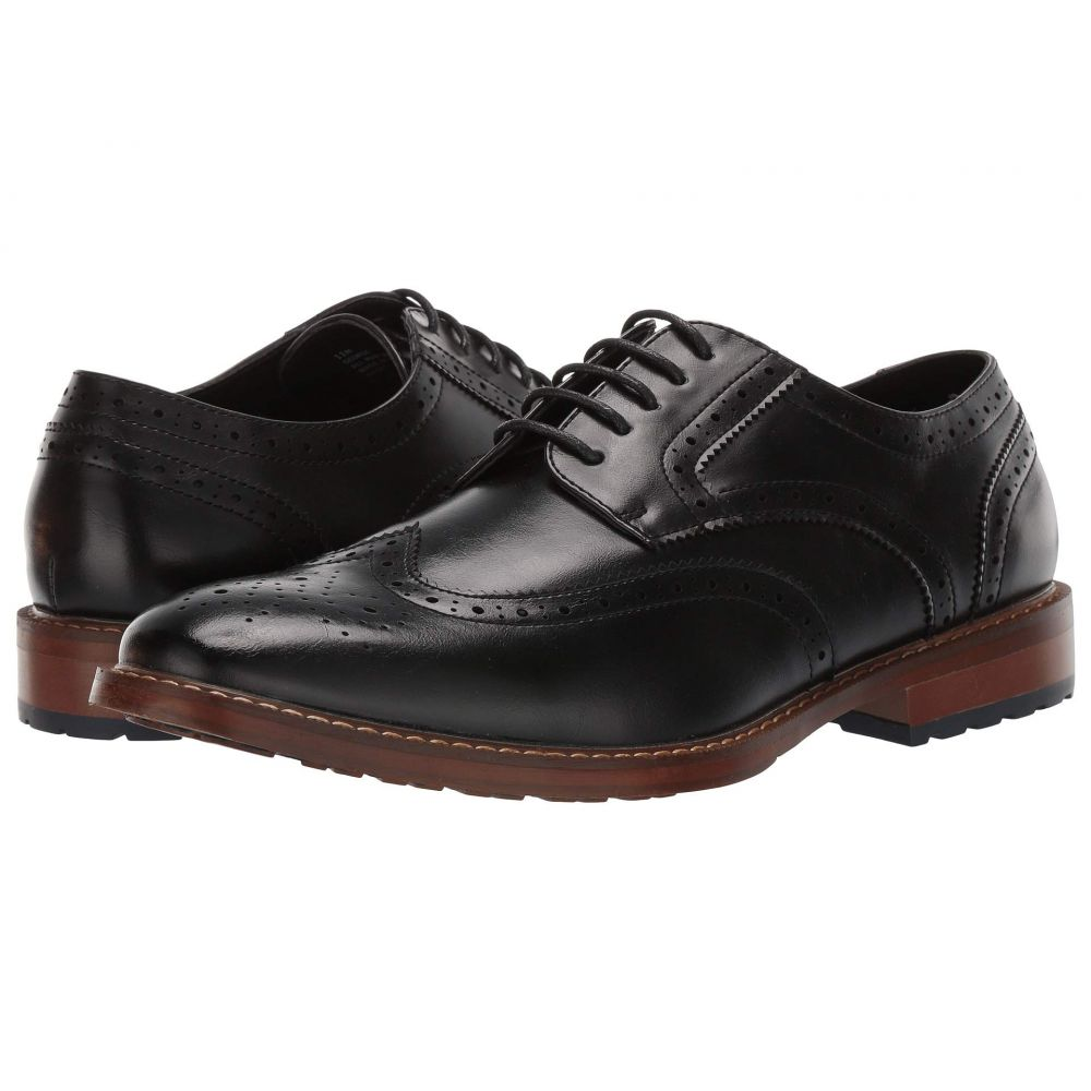 ヴァンハウセン Van Heusen メンズ シューズ・靴 革靴・ビジネスシューズ【George】Black