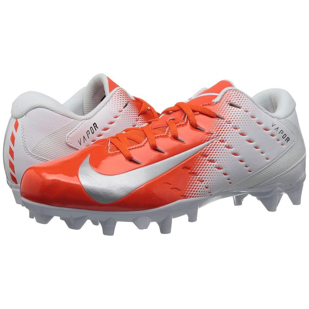 ナイキ Nike メンズ アメリカンフットボール シューズ・靴【Vapor Varsity 3 TD】White/Metallic Silver/Rush Orange/Black
