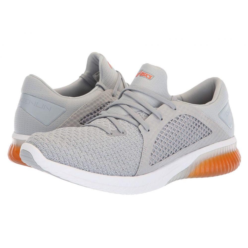 アシックス ASICS メンズ ランニング・ウォーキング シューズ・靴【GEL-Kenun Knit】Mid Grey/Lava Orange