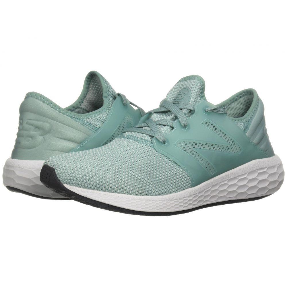 ニューバランス New Balance レディース ランニング・ウォーキング シューズ・靴【Fresh Foam Cruz V2 Sport】Mineral Sage/White