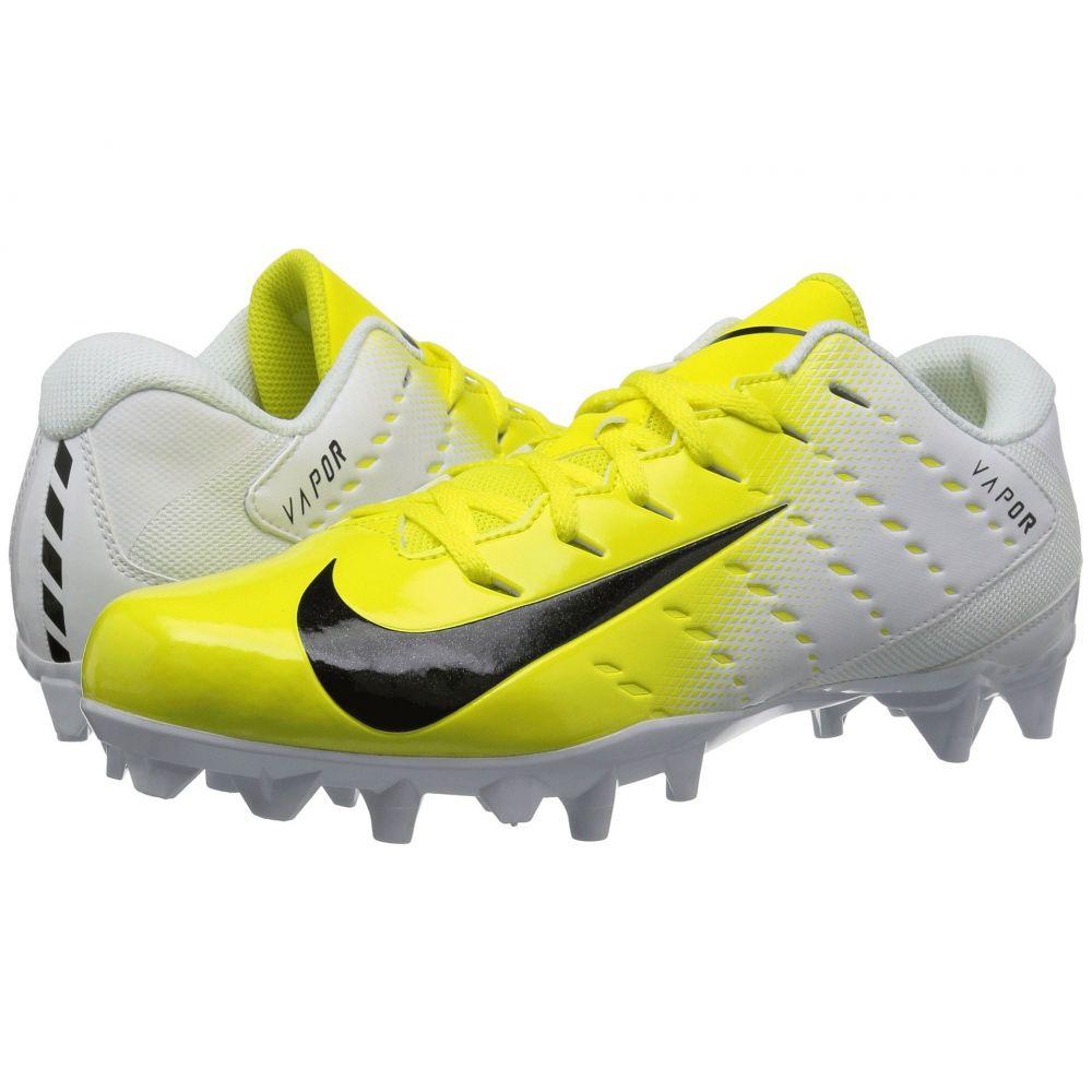 ナイキ Nike メンズ アメリカンフットボール シューズ・靴【Vapor Varsity 3 TD】White/Black/Dynamic Yellow/Black