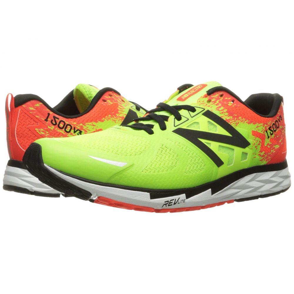 ニューバランス New Balance メンズ ランニング・ウォーキング シューズ・靴【1500v3】Lime Glo/Alpha Orange