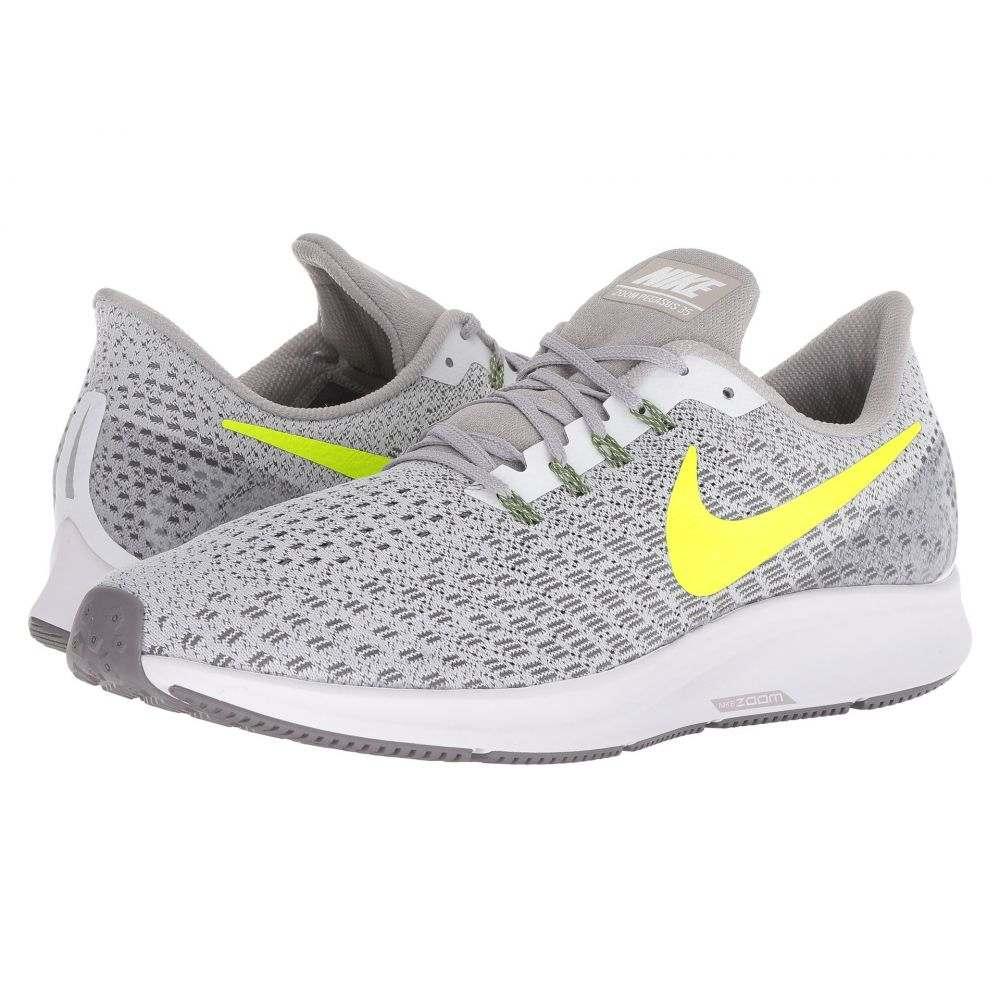 ナイキ Nike メンズ ランニング・ウォーキング シューズ・靴【Air Zoom Pegasus 35】White/Gunsmoke/Atmosphere Grey/Volt