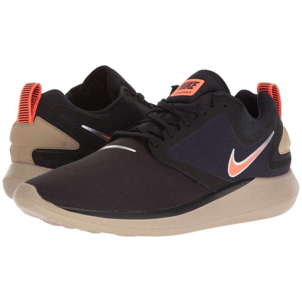 ナイキ Nike メンズ ランニング・ウォーキング シューズ・靴【LunarSolo】Black/Total Crimson/Khaki