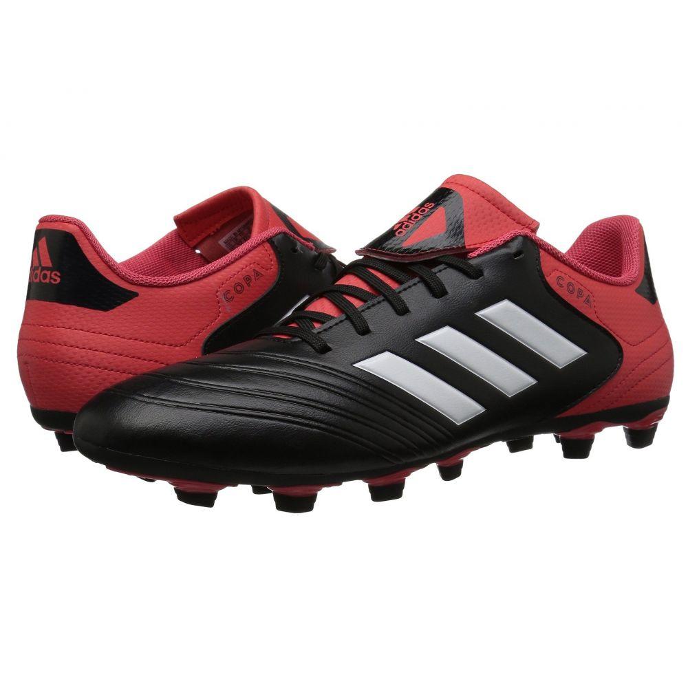 アディダス adidas メンズ サッカー シューズ・靴【Copa 18.4 FG】Black/White/Real Coral