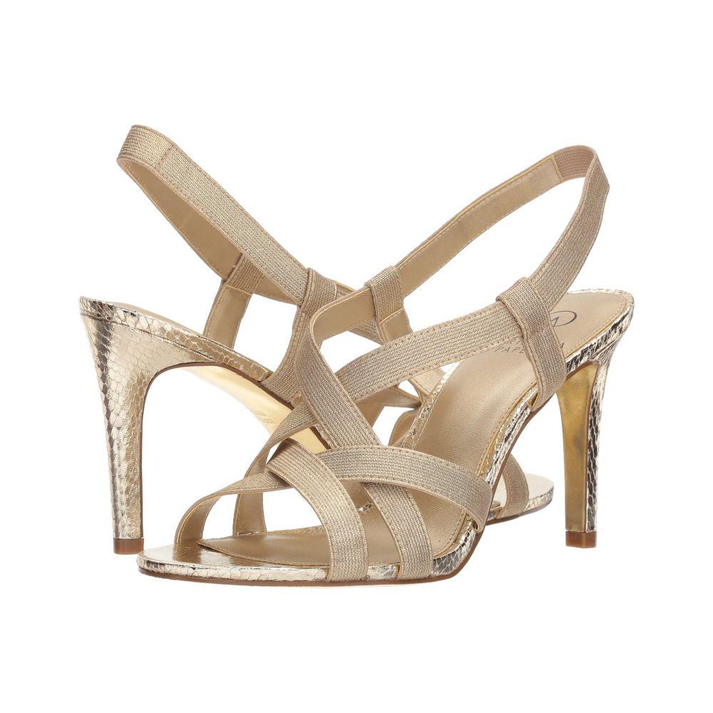 アドリアナ パペル Adrianna Papell レディース シューズ・靴 サンダル・ミュール【Addie】Platino Metallic Elastic