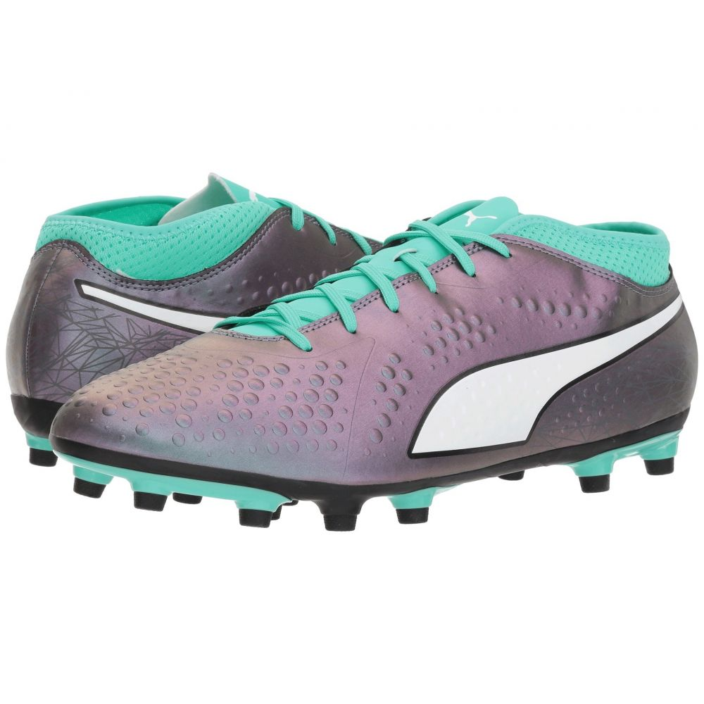 プーマ PUMA メンズ サッカー シューズ・靴【One 4 IL Synthetic FG】Color Shift/Biscay Green/Puma White/Puma Black