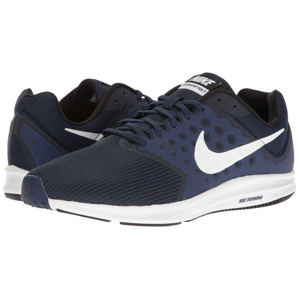 ナイキ Nike メンズ ランニング・ウォーキング シューズ・靴【Downshifter 7】Midnight Navy/White/Dark Obsidian/Black
