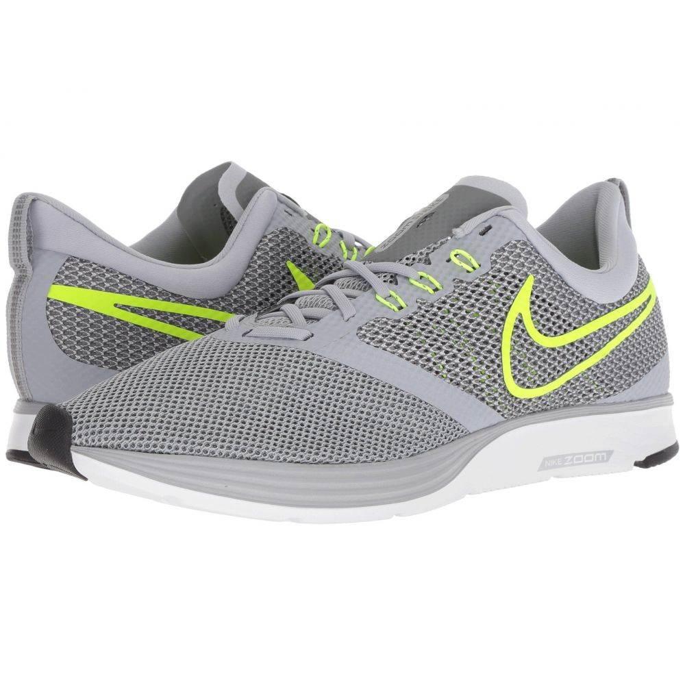 ナイキ Nike メンズ ランニング・ウォーキング シューズ・靴【Zoom Strike】Wolf Grey/Volt/Cool Grey/Oil Grey
