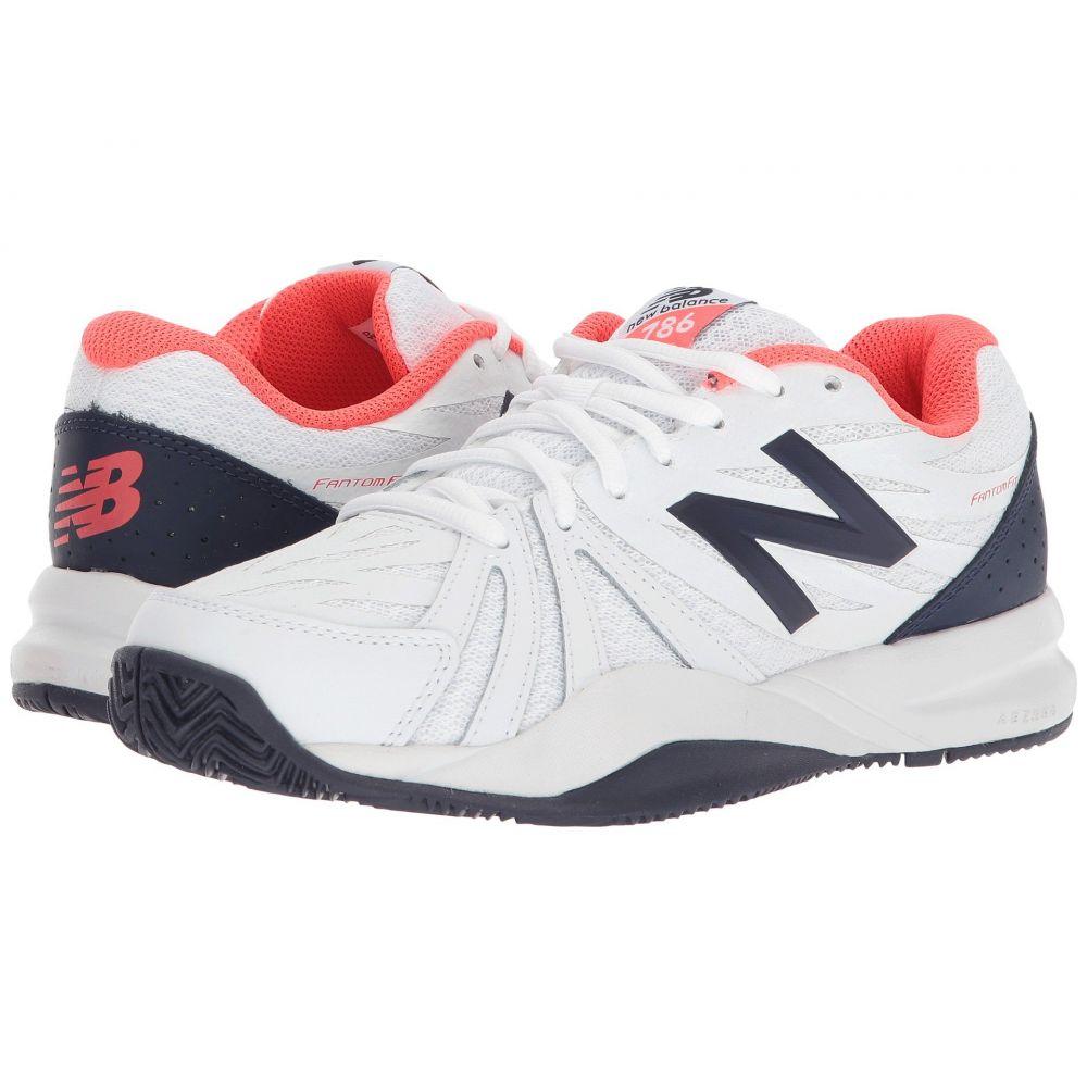 ニューバランス New Balance レディース テニス シューズ・靴【786v2】Vivid Coral/White