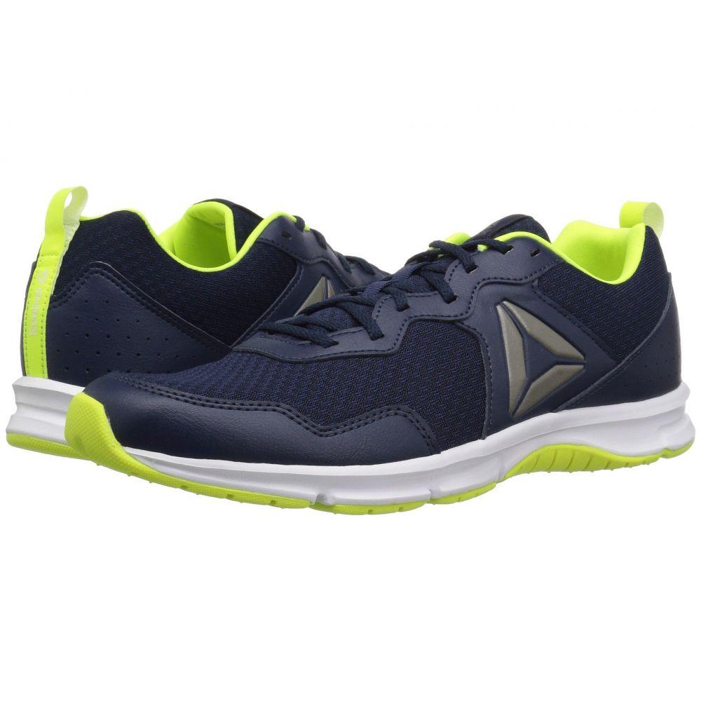 リーボック Reebok メンズ ランニング・ウォーキング シューズ・靴【Express Runner 2.0】Collegiate Navy/Solar Yellow/White/Alloy/Pewter