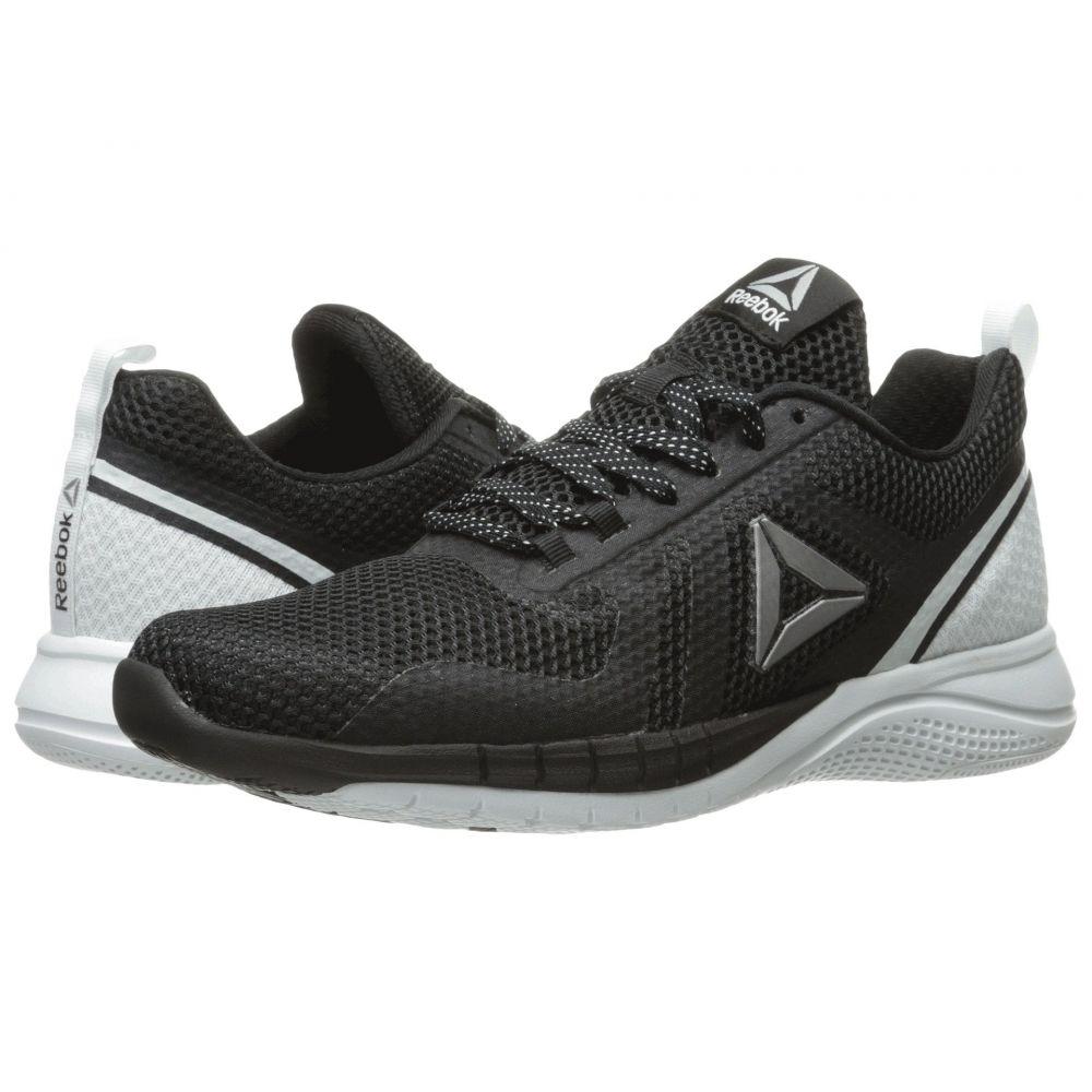 リーボック Reebok レディース ランニング・ウォーキング シューズ・靴【Print Run 2.0】Black/Polar Blue/Pewter