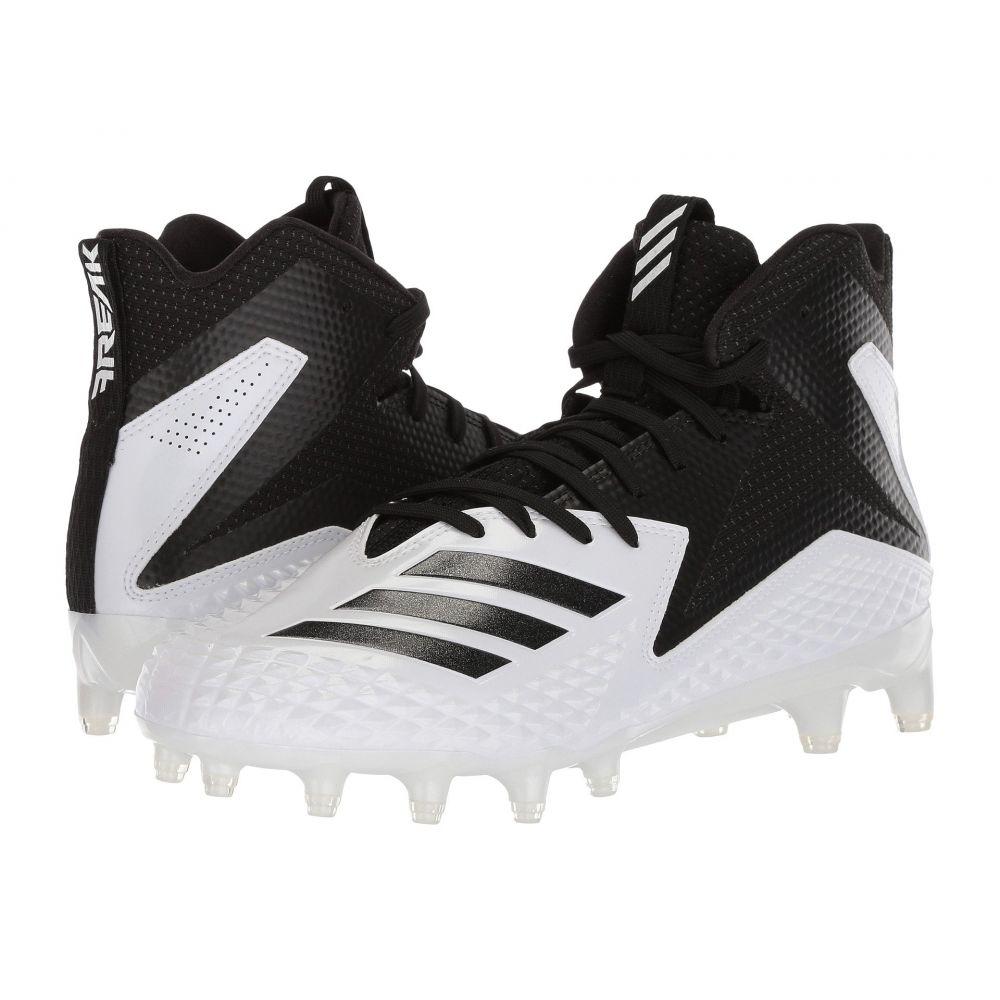 アディダス adidas メンズ アメリカンフットボール シューズ・靴【Freak x Carbon Mid】Footwear White/Core Black/Core Black