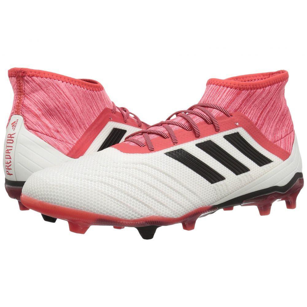 アディダス adidas メンズ サッカー シューズ・靴【Predator 18.2 FG】White/Black/Real Coral