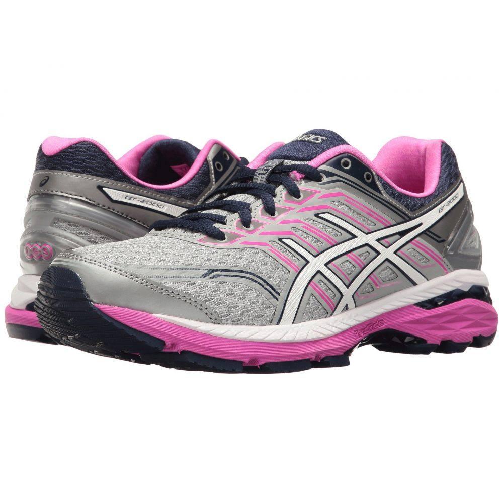 アシックス ASICS レディース ランニング・ウォーキング シューズ・靴【GT-2000 5】Midgrey/White/Pink Glow