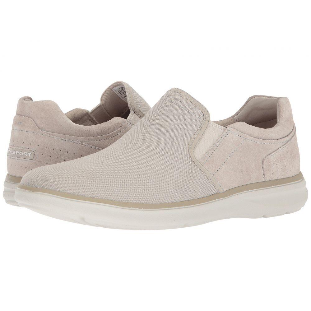 ロックポート Rockport メンズ シューズ・靴 スリッポン・フラット【Zaden Gore Slip-On】Sand Leather/Textile