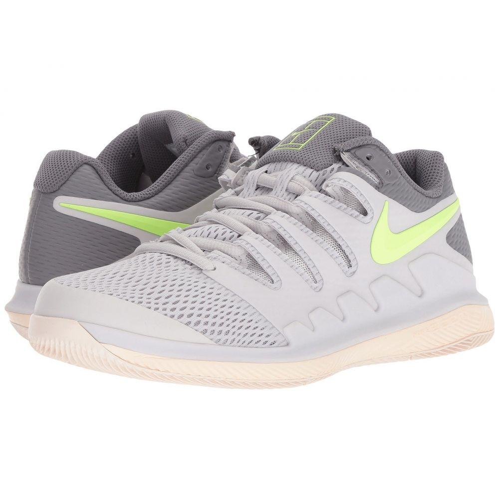 ナイキ Nike レディース テニス シューズ・靴【Air Zoom Vapor X】Vast Grey/Volt Glow/Guava Ice/Gunsmoke