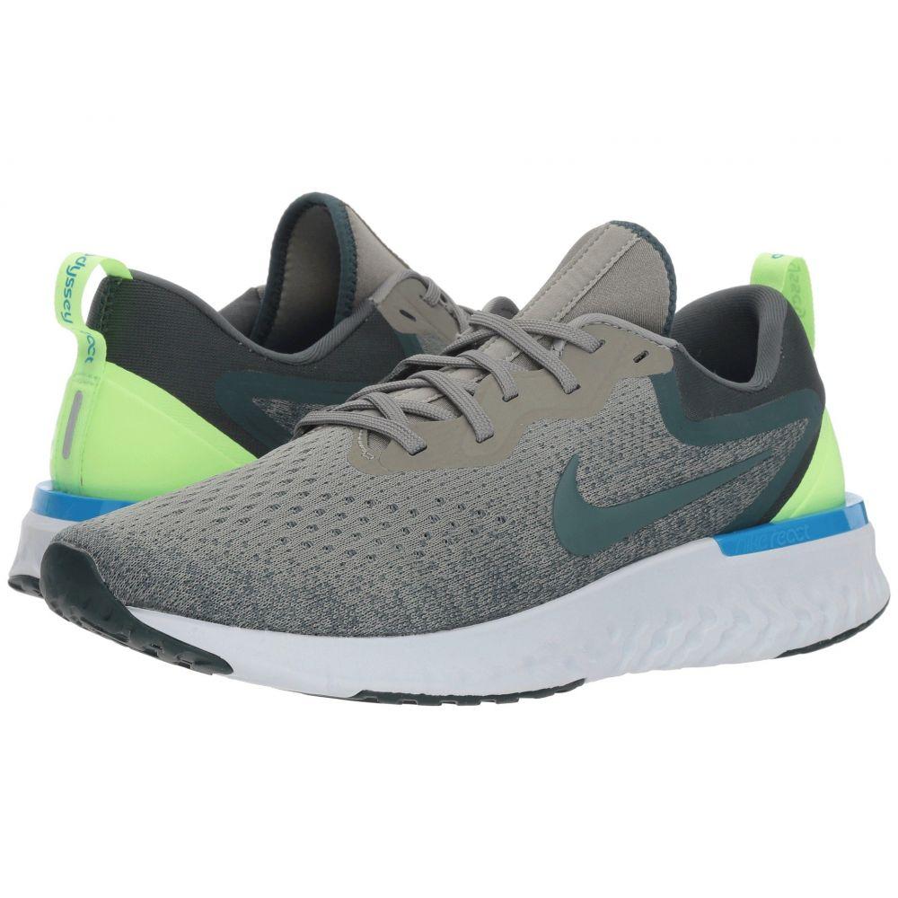 ナイキ Nike メンズ ランニング・ウォーキング シューズ・靴【Odyssey React】Dark Stucco/Lime Blast/Faded Spruce