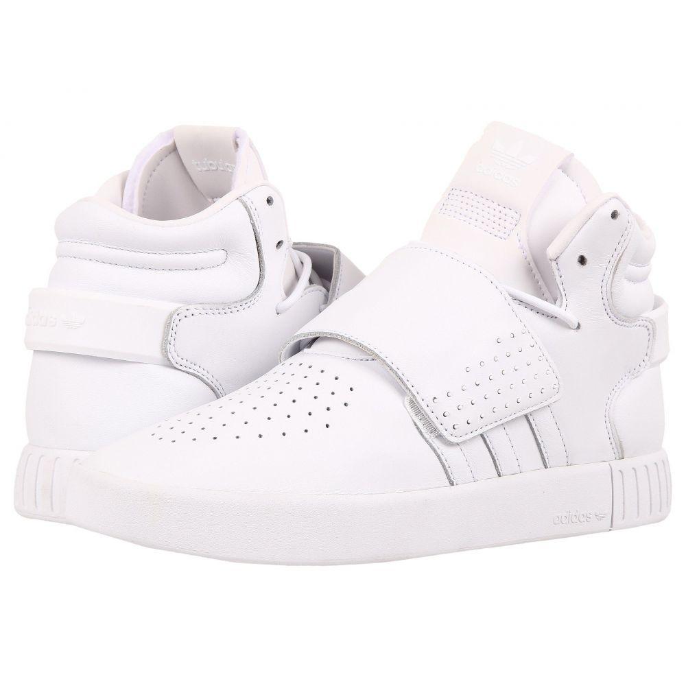 アディダス adidas Originals メンズ シューズ・靴 スニーカー【Tubular Invader Strap】Footwear White/Footwear White/Footwear White