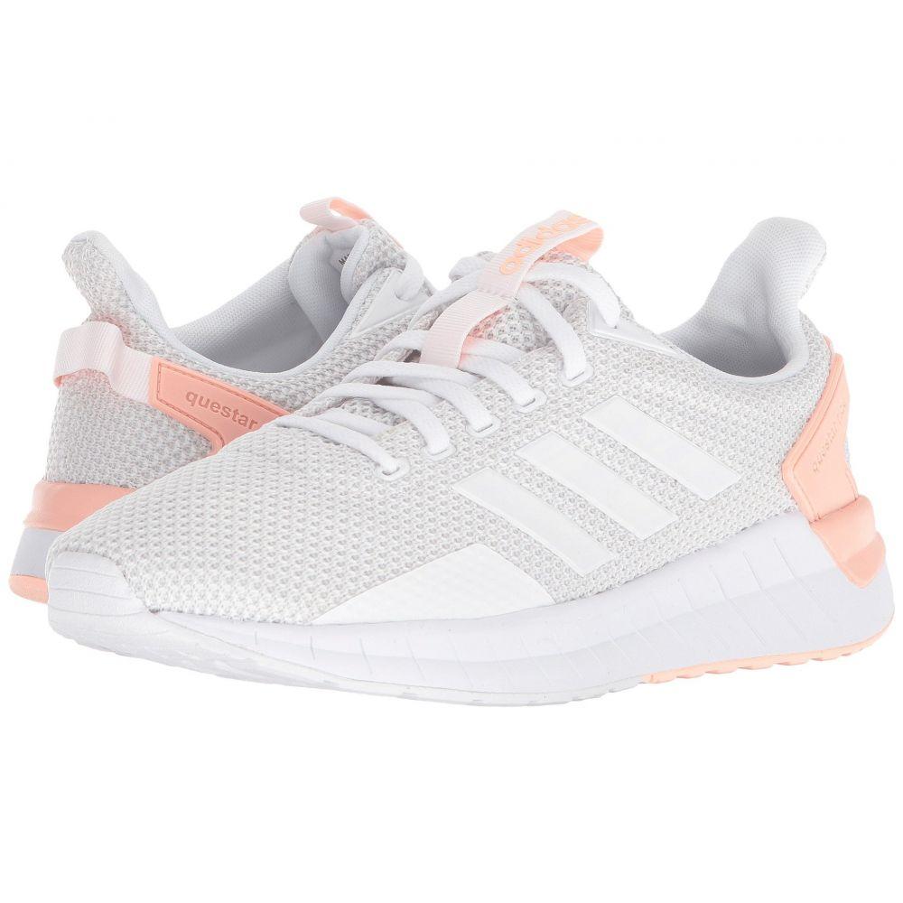 アディダス adidas Running レディース ランニング・ウォーキング シューズ・靴【Questar Ride】Footwear White/Grey One/Haze Coral