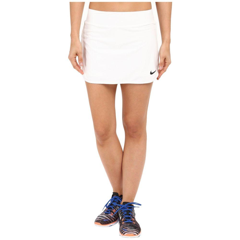 ナイキ Nike レディース テニス ボトムス・パンツ【Court Pure Tennis Skirt】White/Black