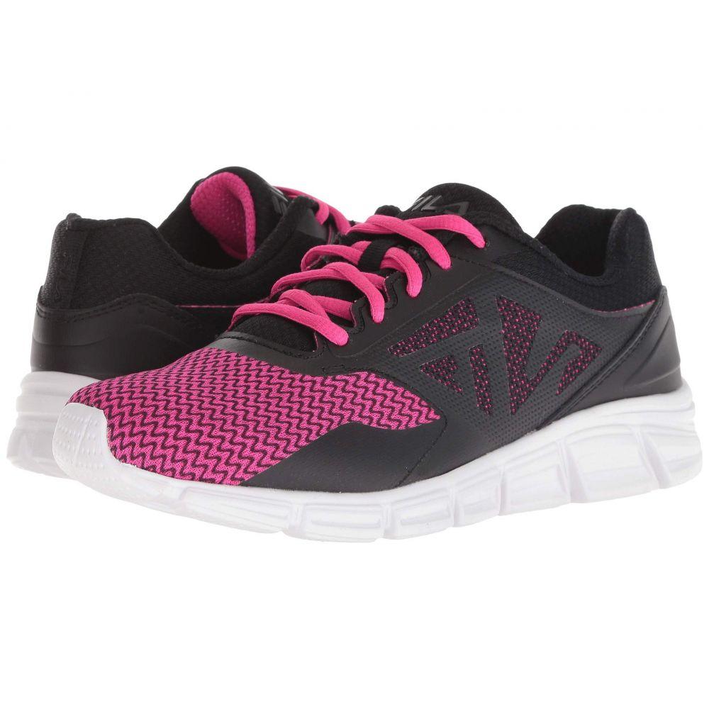 フィラ Fila レディース ランニング・ウォーキング シューズ・靴【Skyspan Running】Black/Knockout Pink/White