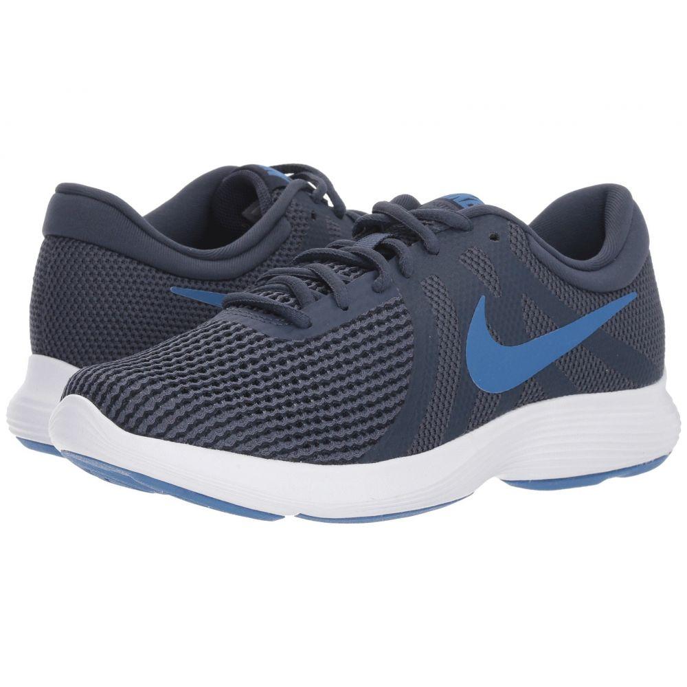 ナイキ Nike レディース ランニング・ウォーキング シューズ・靴【Revolution 4】Dark Obsidian/Mountain Blue/Thunder Blue